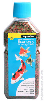 Aqua One Economy Pellets 1mm 630g (11591)