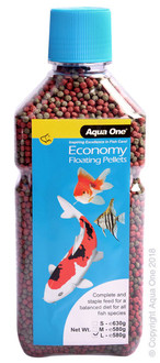 Aqua One Economy Pellets 3mm 580g (11593)