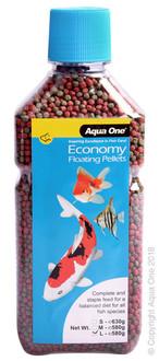 Aqua One Economy Pellets 3mm 580g (11593)