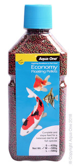 Aqua One Economy Pellets 2mm 580g (11592)