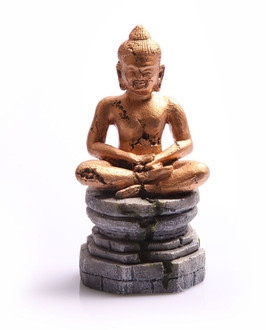 Aqua One Meditating Buddha Gold Ornament (36853)