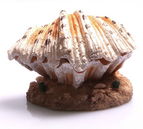 Aqua One Air Operated Clam on Sand Ornament (36864)