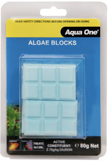 Aqua One Algae Block 20g x4 (95010)
