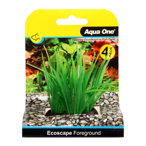 Aqua One Ecoscape Foreground Lilaeopsis 4pk Green (28360)