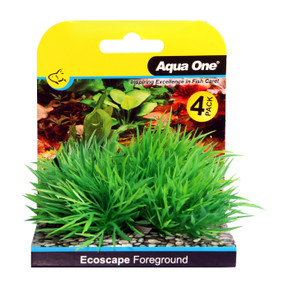Aqua One Ecoscape Foreground Hair Grass 4pk Green (28362)