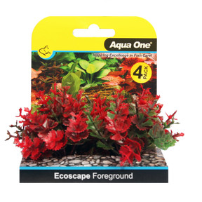 Aqua One Ecoscape Foreground Catspaw 4pk Red (28364)
