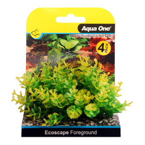 Aqua One Ecoscape Foreground Catspaw 4pk Yellow (28365)