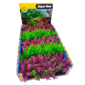 Aqua One Ecoscape Foreground Catspaw Pk/hair Grass GN Mix Punnet 5pk (28368)