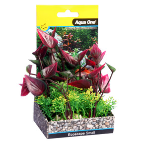 Aqua One Ecoscape Small Lily Red 10cm (28372)