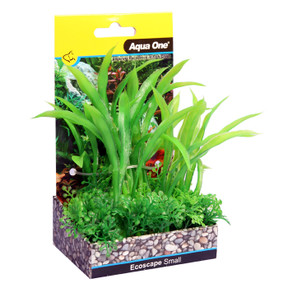Aqua One Ecoscape Small Crinum Green 10cm (28374)