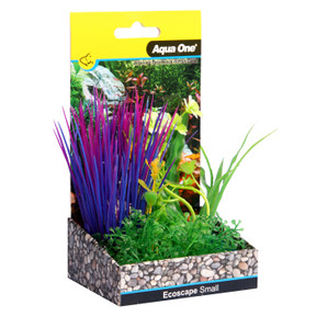 Aqua One Ecoscape Small Blyxa Purple 10cm (28376)