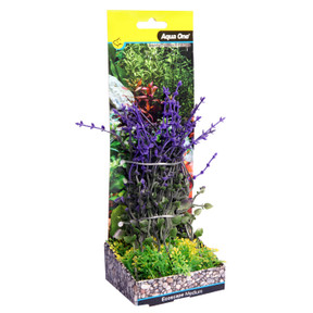 Aqua One Ecoscape Medium Bladderwort Purple 20cm (28378)