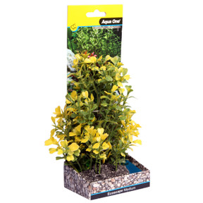 Aqua One Ecoscape Medium Japanese Box Yellow 20cm (28379)