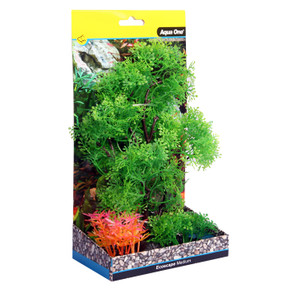 Aqua One Ecoscape Medium Pollicem Ranae Tree Green 20cm (28388)