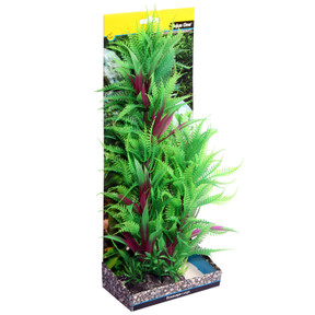 Aqua One Ecoscape Large Fern Column Green 30cm (28400)