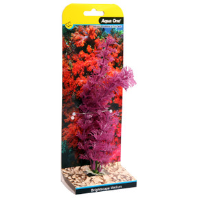 Aqua One Brightscape Medium Ludwigia Purple 20cm (28425)
