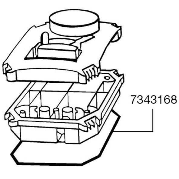 Eheim 22222224 Pump Head Sealing Ring Gasket 7343168