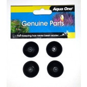 Aqua One Suction Cups 103F & 104F 4pk (11056)