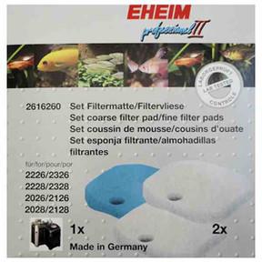 Eheim 2026/2028 Filter Pad Set (3pk) (2616260)