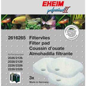 Eheim 2026/2028 /2226 Fine Filter Pads (3pk) (2616265)