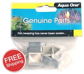 Aqua One AquaStart 320 & 340, AquaMode 300 & 600 Lid Hinge Silver (2pk) (11061sv)