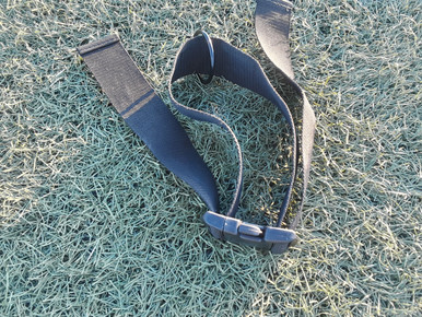 Overspeed trainer belt adjustable to fit most waist with connecting loop.