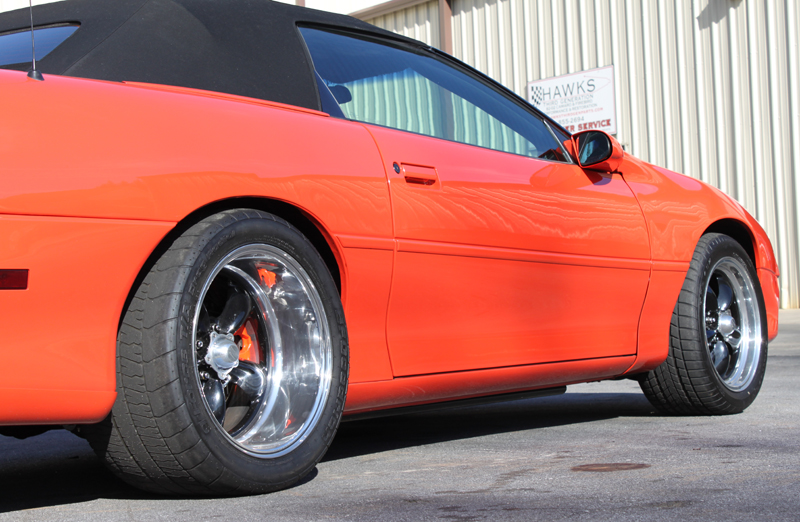 T56 Transmission For Sale >> Bruce's 1999 HOSS Camaro Convertible