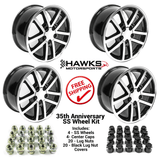 Camaro 2002 10 Spoke 35th Anniversary SS 17 x 9 Wheel Kit - FREE SHIPPING