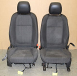 2014-2017 Chevrolet Caprice PPV Cloth Front Seats Set Pair W/Side Air Bags, USED GM