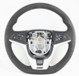 2014-2015 Camaro Z28 LS7 Ebony Black Suede Steering Wheel New GM OEM