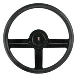 "1982-89 IROC-Z / Z28 15"" Billet Steering Wheel w/Horn Button, Reproduction"