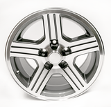 1988-90 Camaro IROC-Z 17 x 9 Wheel Set of 4, Gray Finish- FREE SHIPPING