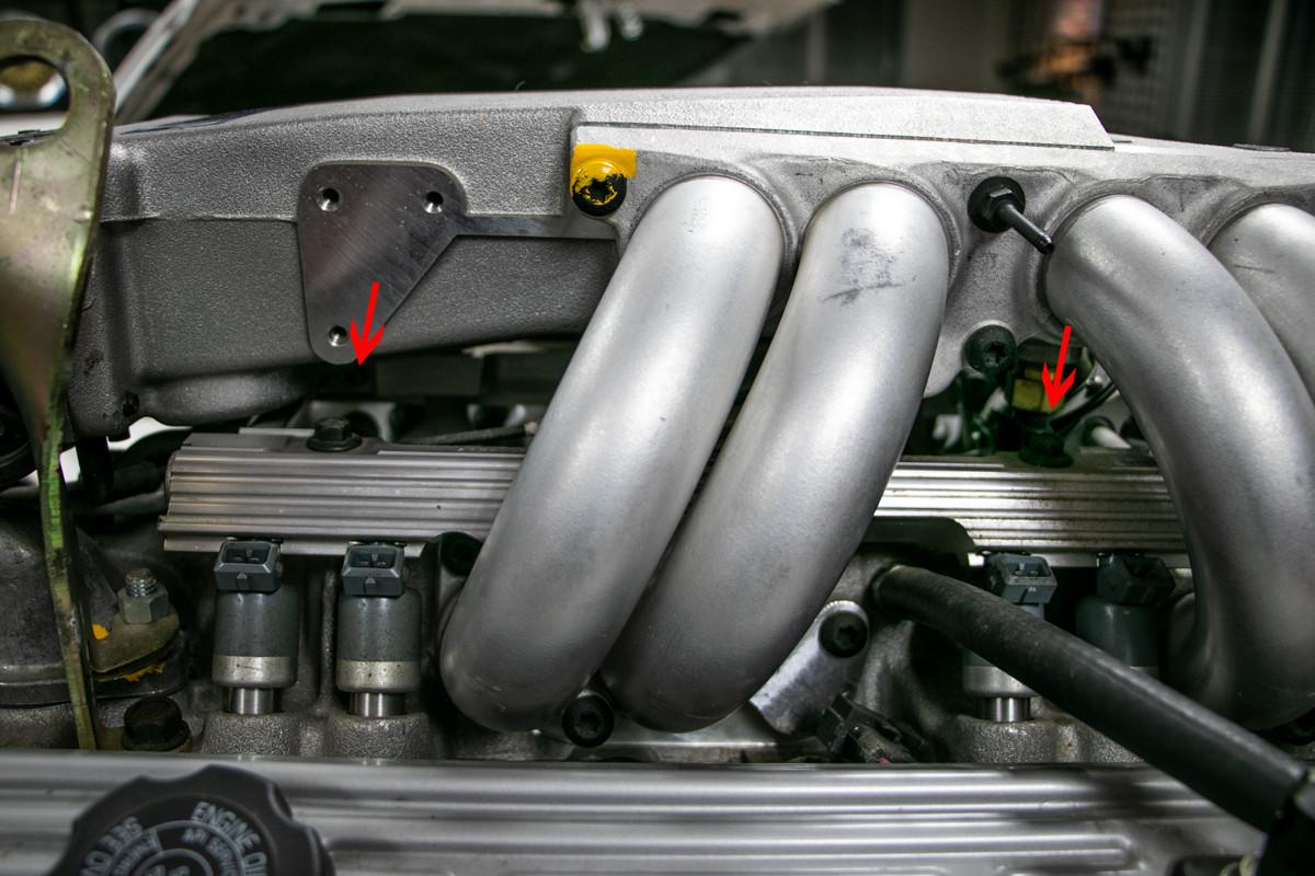 85-92 Camaro IrocZ Z28 Firebird GTA TPI throttle body to plenum bolts tuned port