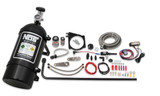 NOS Complete Wet Nitrous System for GM LS Engines with 102/105mm 4-Bolt Drive By Wire Throttle Body - Black