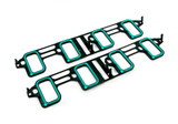 Magnuson TVS2300 LS3 Square Port Supercharger Intake Gaskets Pair, GM