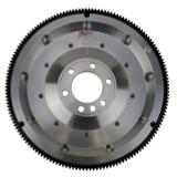 Flywheel, Ram Clutch Flywheel, Aluminum, Pre-86 SBC swapping to 93-97 T56 transmission, 2pc rear main