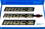 1988-90 Camaro IROC-Z Gold Emblems, GM Restoration Reproduction