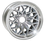 "1978-1981 Trans Am Silver ""Snowflake"" wheel"