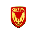 ***CLEARANCE***87-90 Bright Red GTA Front Bumper Emblem