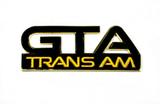 **CLEARANCE** 1987-92 GTA Trans Am Black Side Fender Emblem, SINGLE