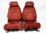 1987-92 Firebird GTA Carmine Red Front Seats