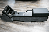 1985-89 Camaro Automatic Console w/White Lettering and carpet sides, Refurbished with new parts