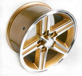 1985-1987 Camaro IROC-Z 17 x 9 Wheel Set of 4, Gold Finish- FREE SHIPPING