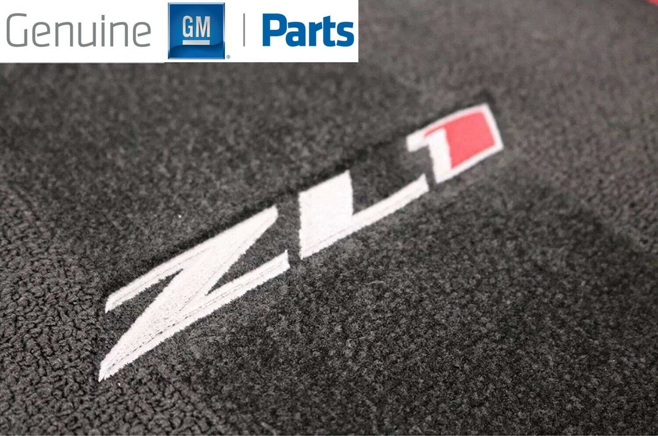 Genuine GM Floor Mats Carpet ZL1 Logo 23378909
