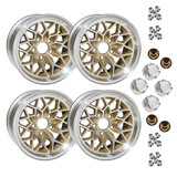 1978-81 Camaro/Firebird 15 X 8 Cast Aluminum GOLD SnowFlake Wheel Kit