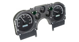*CLEARANCE* 82-89 Camaro Dakota Digital VHX Series Instrument Cluster- BLACK ALLOY FACE, WHITE LIGHTING, WITH OBD-II / CAN INTERFACE