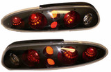 93-2002 Camaro Euro Style Tail Lamp, Available in Black or Chrome