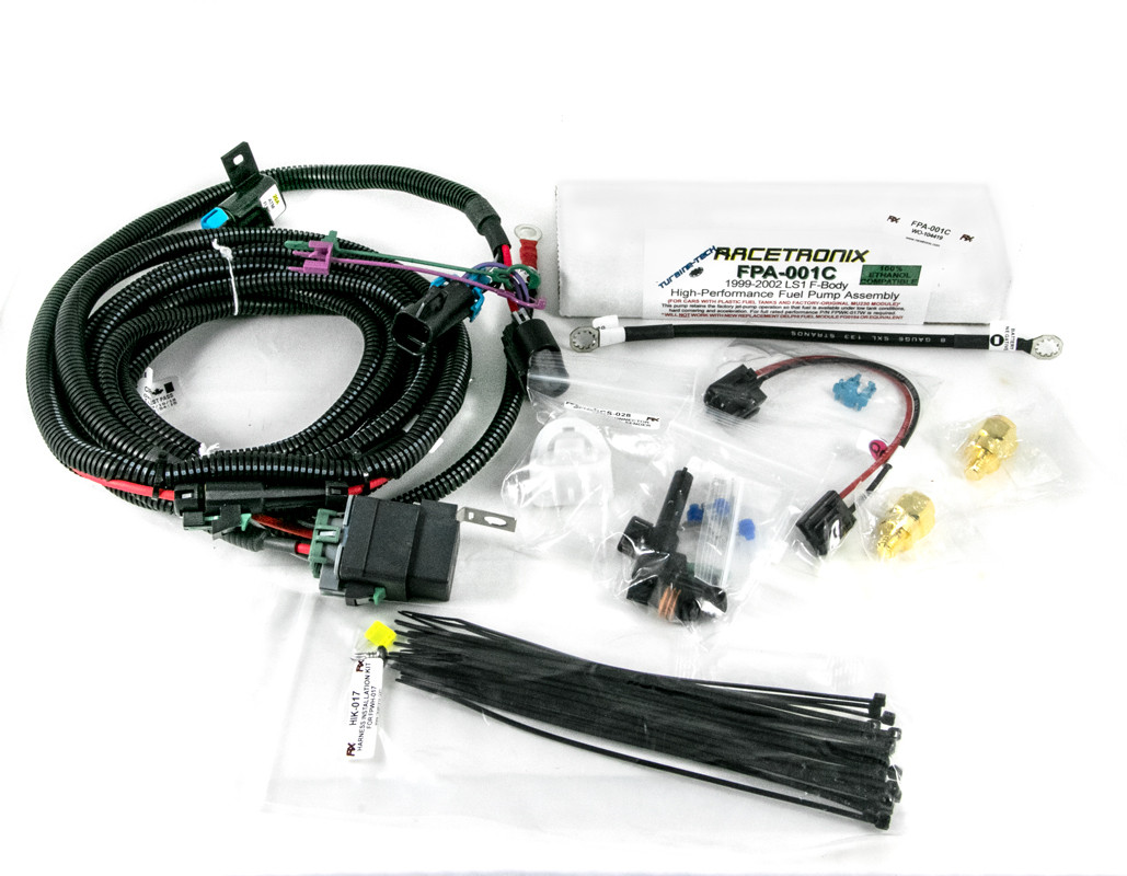 Fuel Pump Kit Racetronix 99 2002 Ls1 57l F Body Wire Harness Installation Image 1