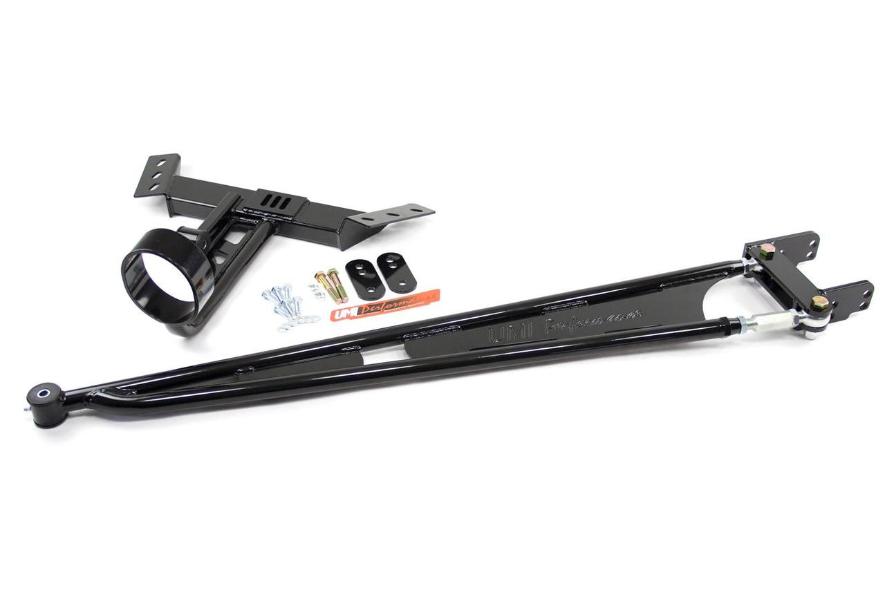 UMI Performance Camaro/Firebird 82-92 Tunnel Mounted Torque Arm- Fits 700R4  & T5 Transmissions with Front Driveshaft Loop