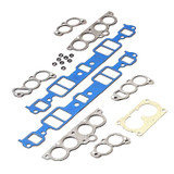 Gasket Set, Manifold, Intake, Stock Port, Small Block Chevy TPI, 5.0/5.7L, Set